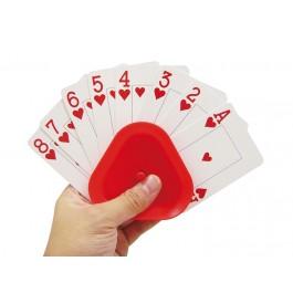 Pelikorttipidike, kolmiomalli