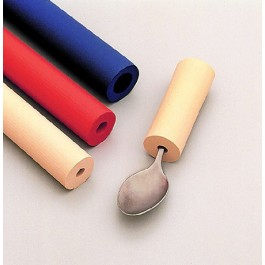 Värilliset paksunnukset, sisämitta Ø 9.5 mm, ulkohalkaisija Ø 2.9 cm, pituus 30 cm, punainen, 6 kpl