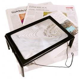Suurennuslasi RFM, pöytämalli, Led valo, suurennus 3.5 x