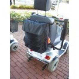 Ostoslaukku sähkömopoon/ pyörätuoliin, 45 x 36 x 12 cm