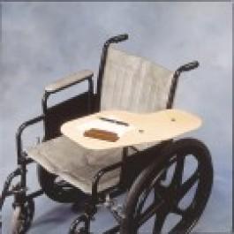 Pyörätuolin pöytälevy, taittuva puinen, n. 24 x 55 cm