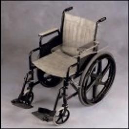 Pyörätuoli taittuva pöytälevy, oikea, läpinäkyvä, n. 24 x 55 cm