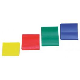 Voimistelunauha RFM, 5.5 m, kevyt vastus, keltainen