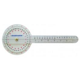 Kulmamittari 0 - 90°  ja 0 – 180°, mittausväli 1°, pituus 16 cm