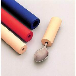 Värilliset paksunnukset, sisämitta Ø 6.4 mm, ulkohalkaisija Ø 2.5 cm, pituus 30 cm, beige, 6 kpl